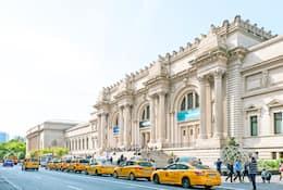 Exterior of the Metropolitan Museum of Art, New York