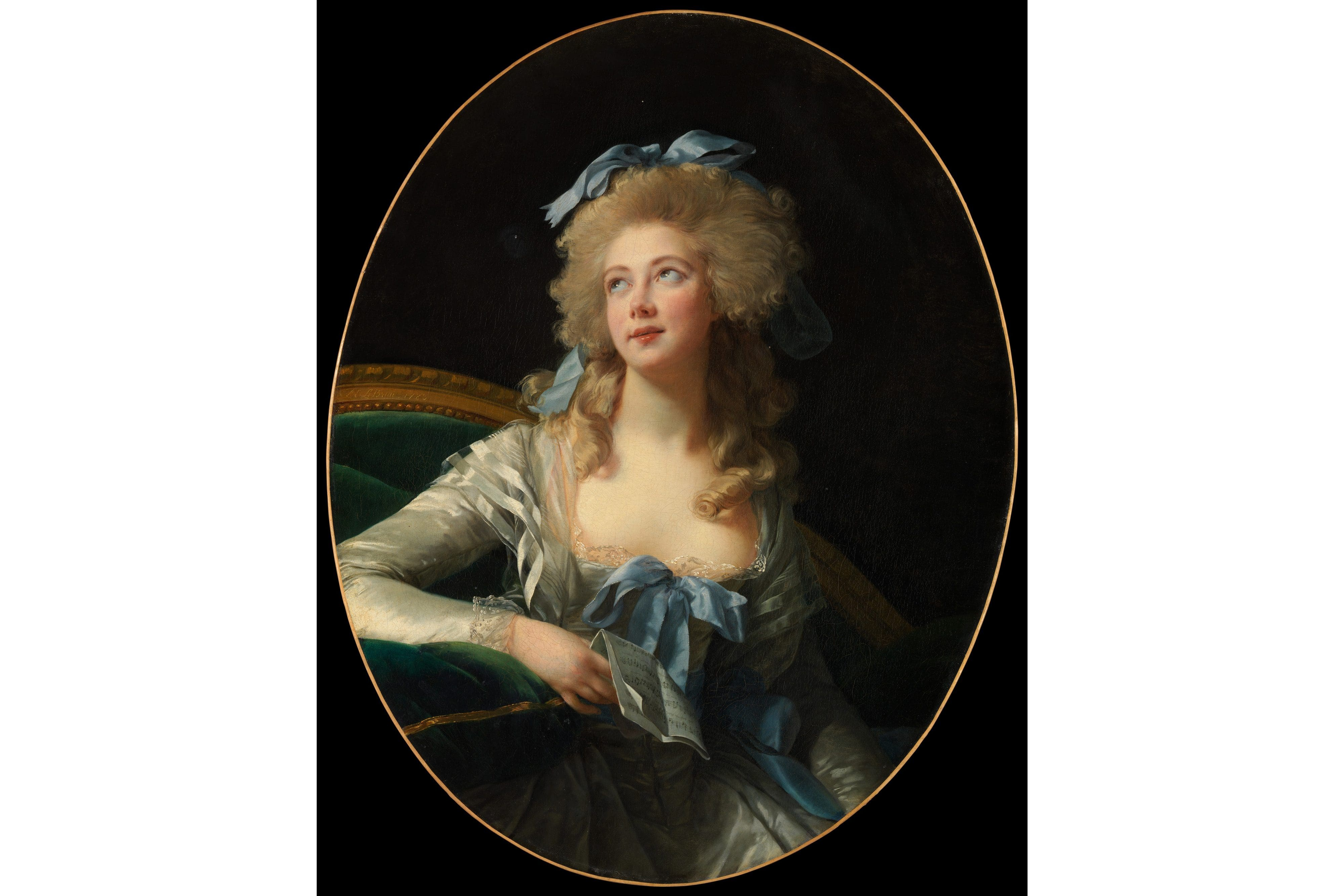 Portrait of Madame Grand by Elisabeth Vigée Le Brun