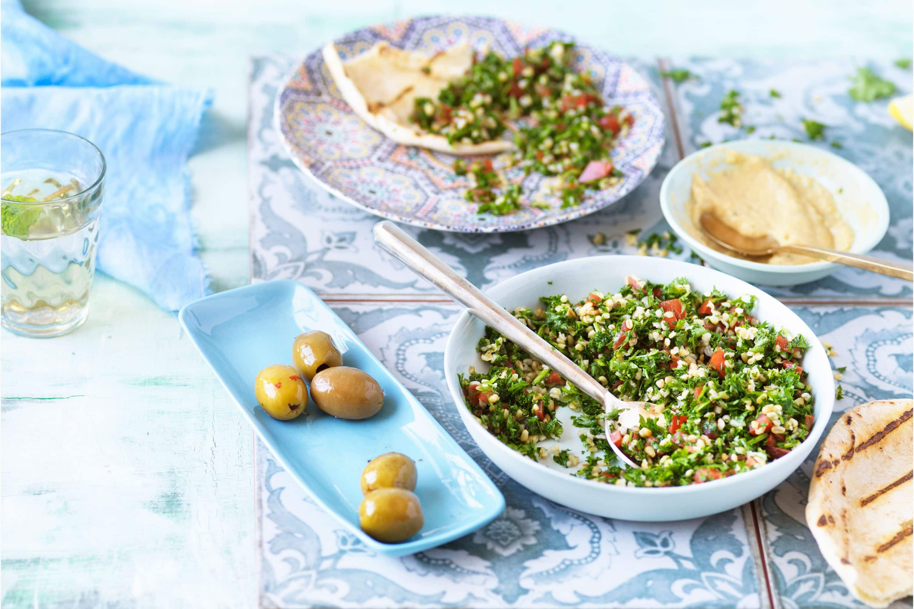 Traditional Arabic food dishes