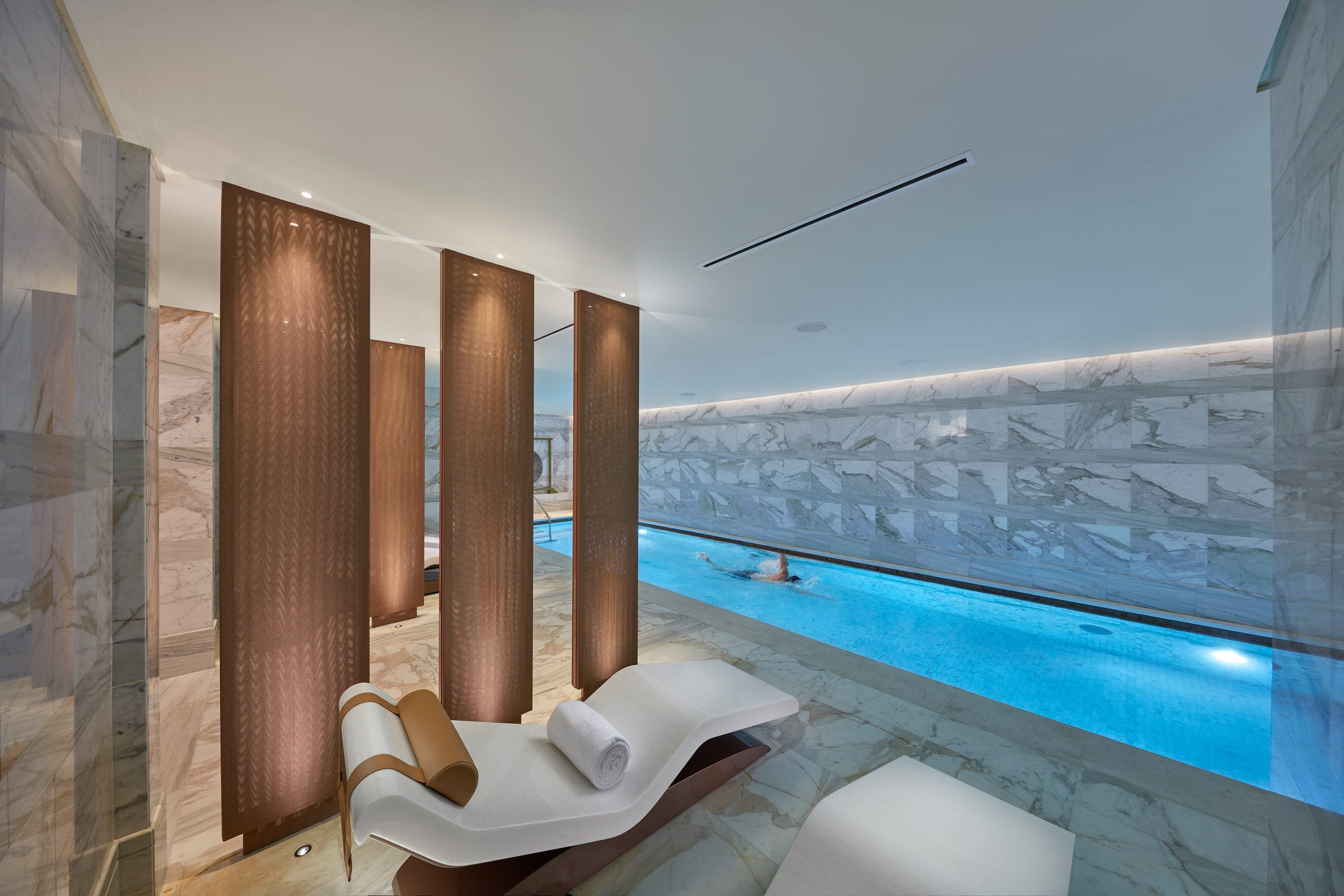 Pool at the Spa at Mandarin Oriental, Doha