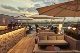 MO Bar terrace at Mandarin Oriental Wangfujing, Beijing