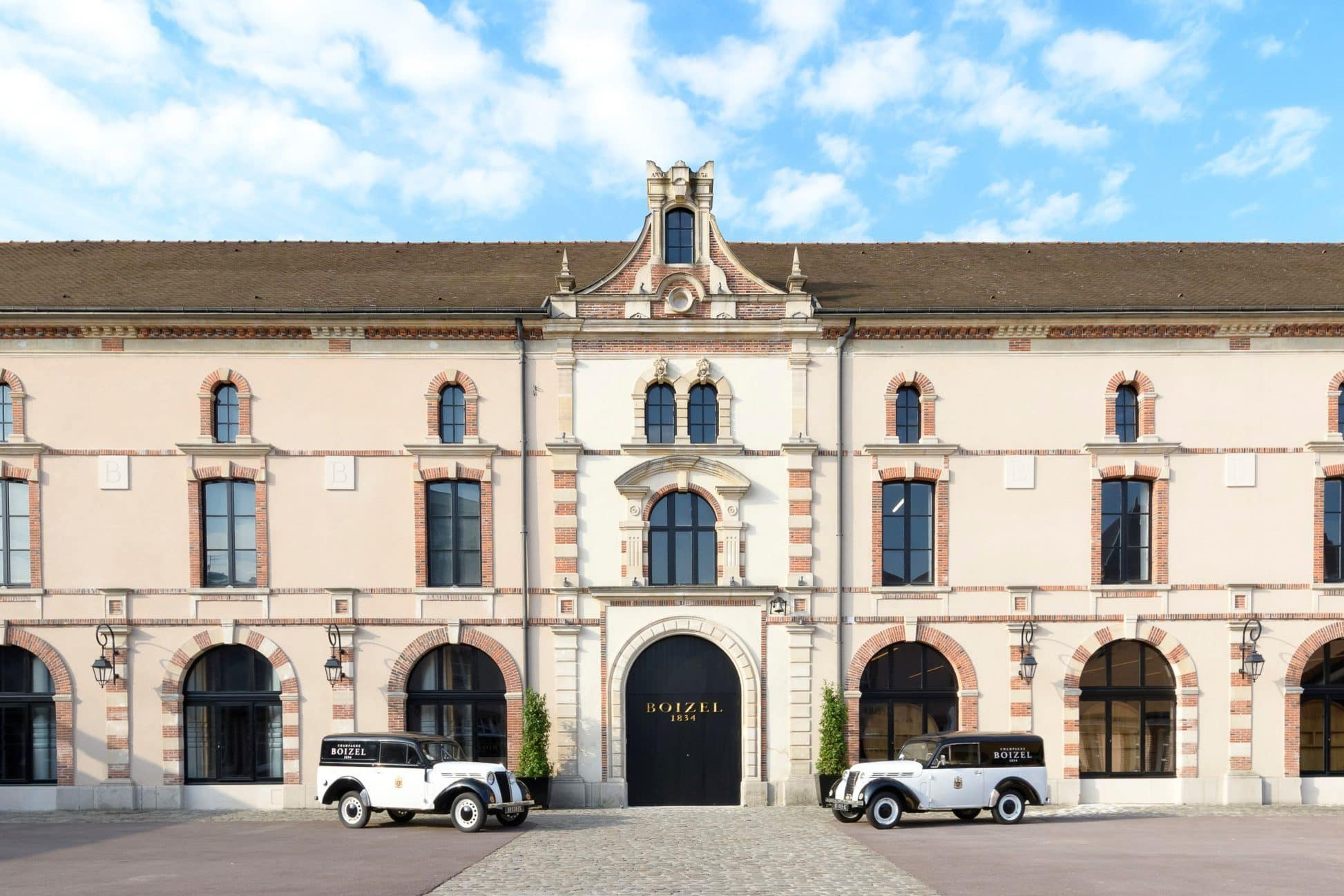 Chateau of Boizel Champagne, France