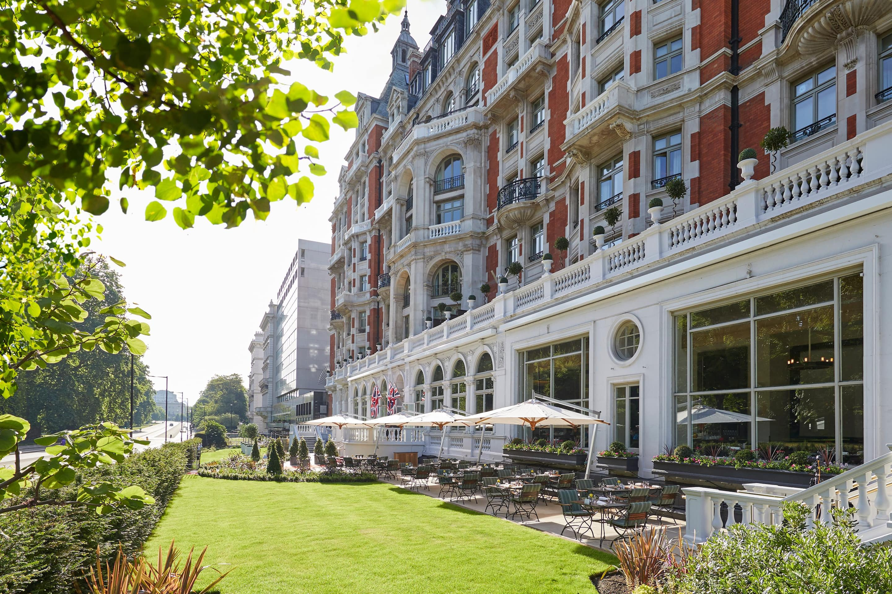 Terrace at Mandarin Oriental Hyde Park, London