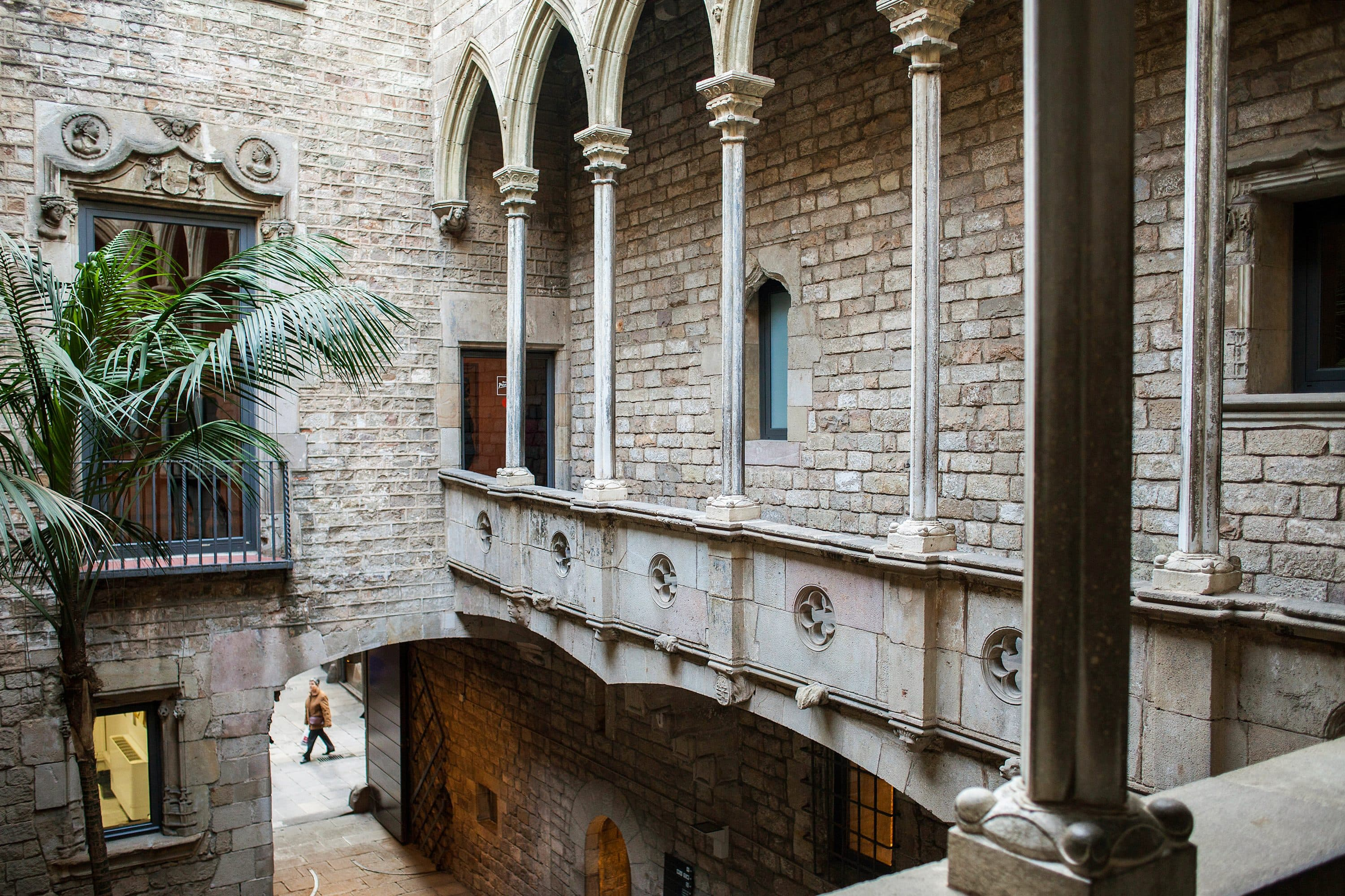 Picasso Museum courtyard, Barcelona