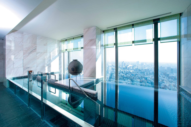 Vitality pool at Mandarin Oriental, Tokyo