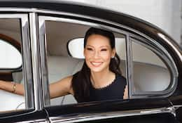Portrait of Lucy Liu