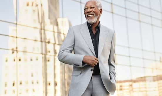 Portrait of Morgan Freeman