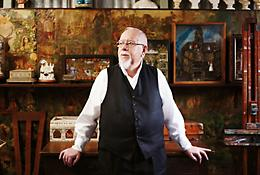Portrait of Sir Peter Blake