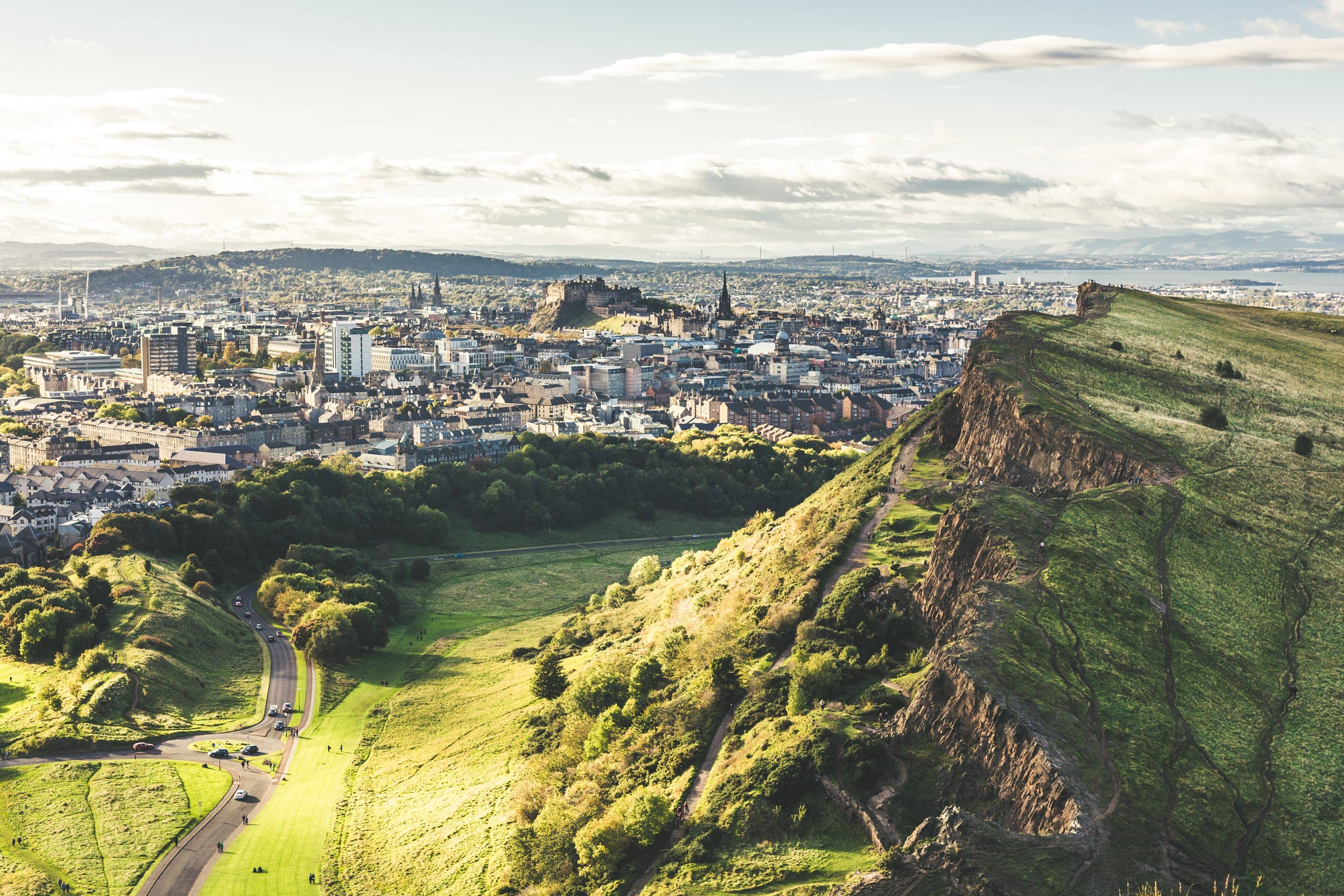 A view of Edinburgh from Arthur's Seat