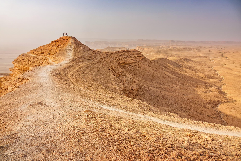 Desert near Riyadh