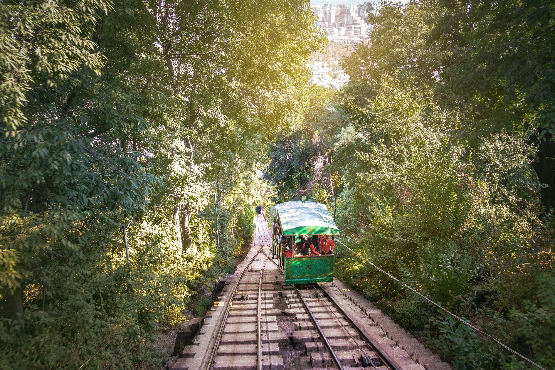 Funicular railway, Santiago