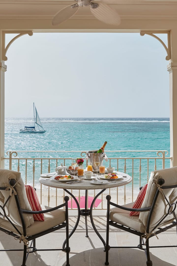 Terrace at Mandarin Oriental, Canouan