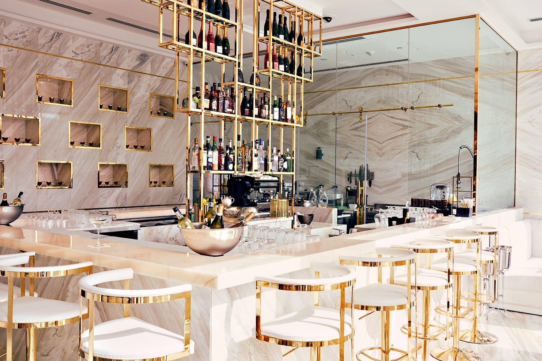 Beluga Caviar bar at Mandarin Oriental, Dubai