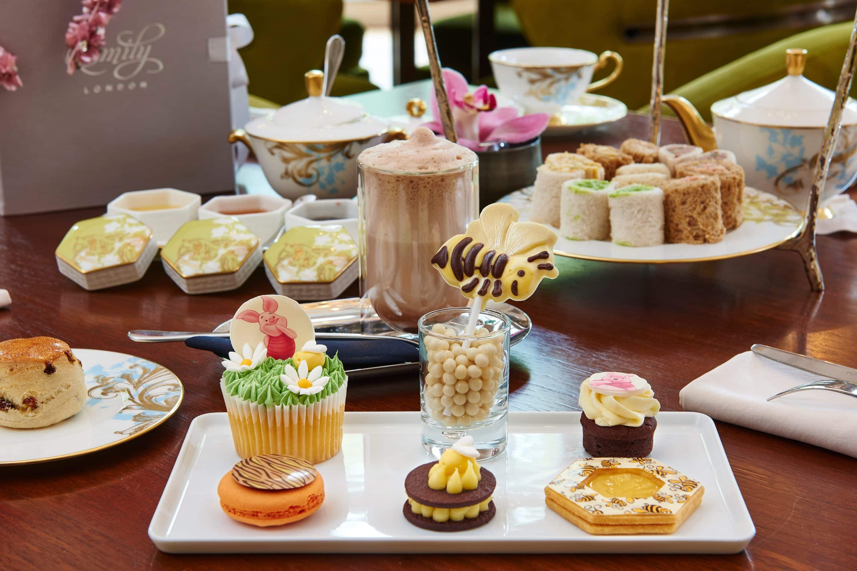 Children's afternoon tea at the Rosebery Lounge