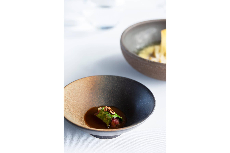 Food dishes at Neolokal