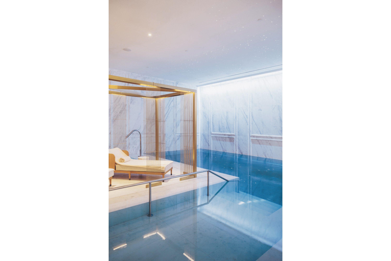 The spa pool at Mandarin Oriental Ritz, Madrid