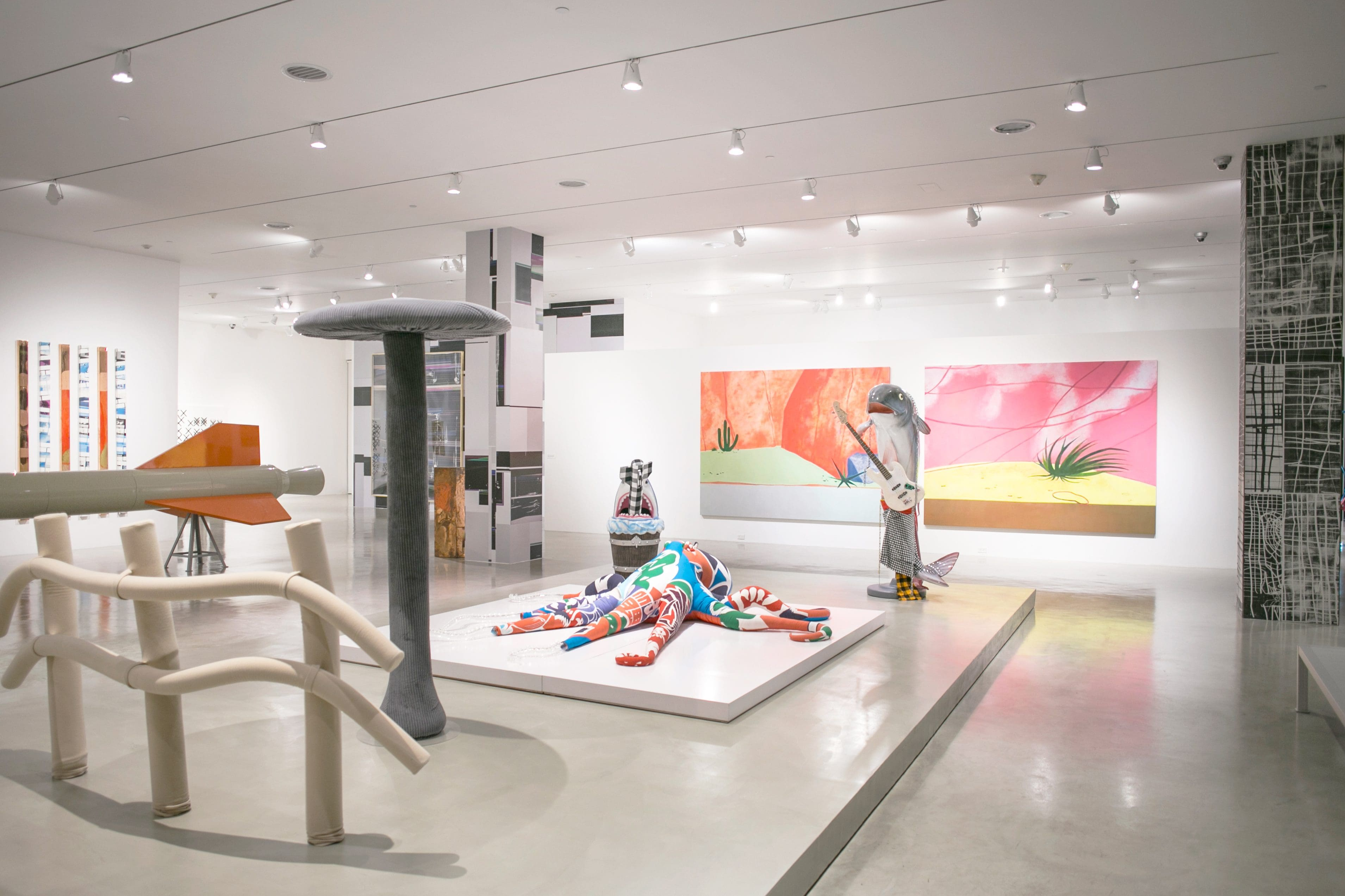 An exhibition at privately owned De La Cruz Collection