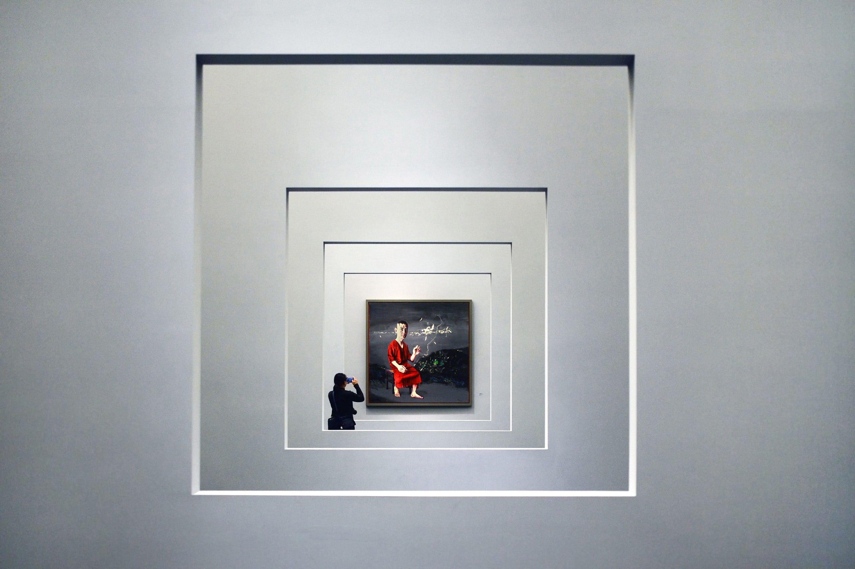Artwork at UCCA gallery, Beijing