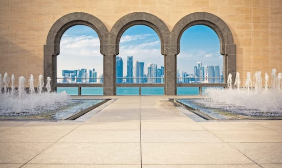 One city, five ways: Doha