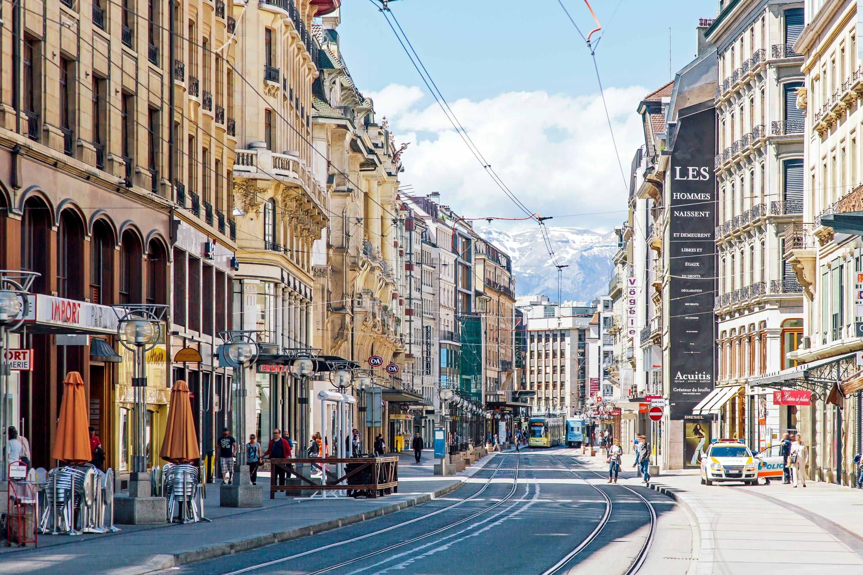Rue du Rhone, Geneva