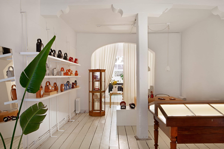 Interior of Andres Gallardo's shop