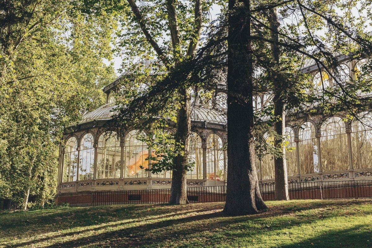 Palacio de Cristal at Parque Retiro
