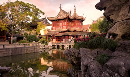 A pagoda in Shanghai