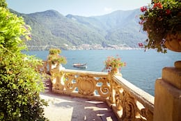 Overlooking Lake Como