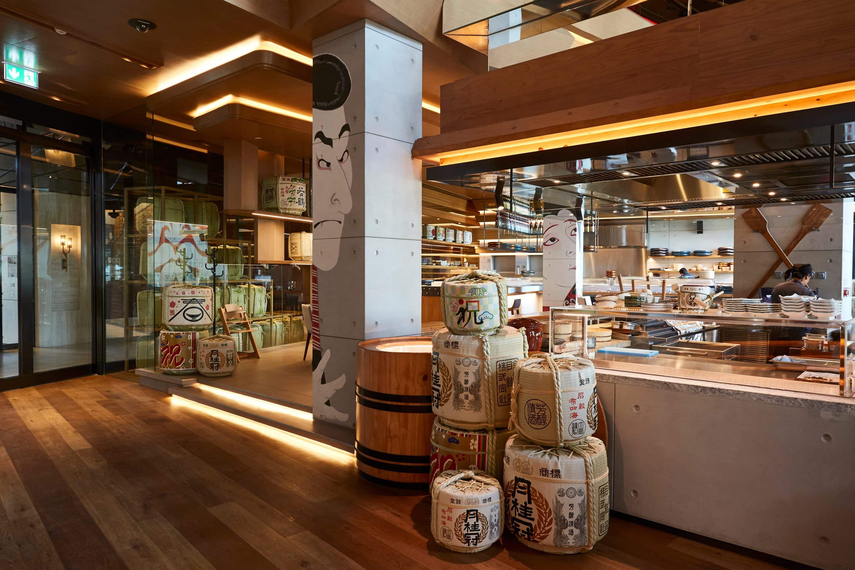 Interior of Netsu at Mandarin Oriental Jumeira, Dubai