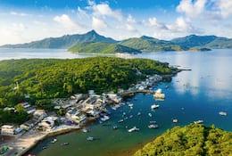 Hong Kong's Tap Mun Island
