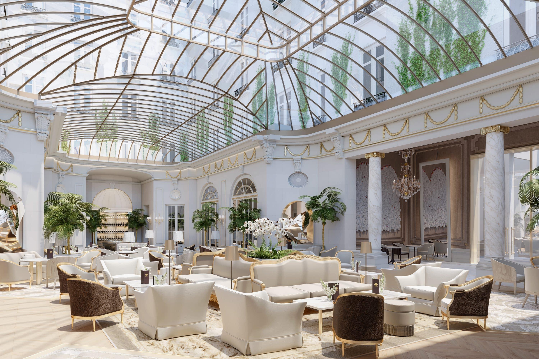 Conservatory lounge at Mandarin Oriental Ritz, Madrid
