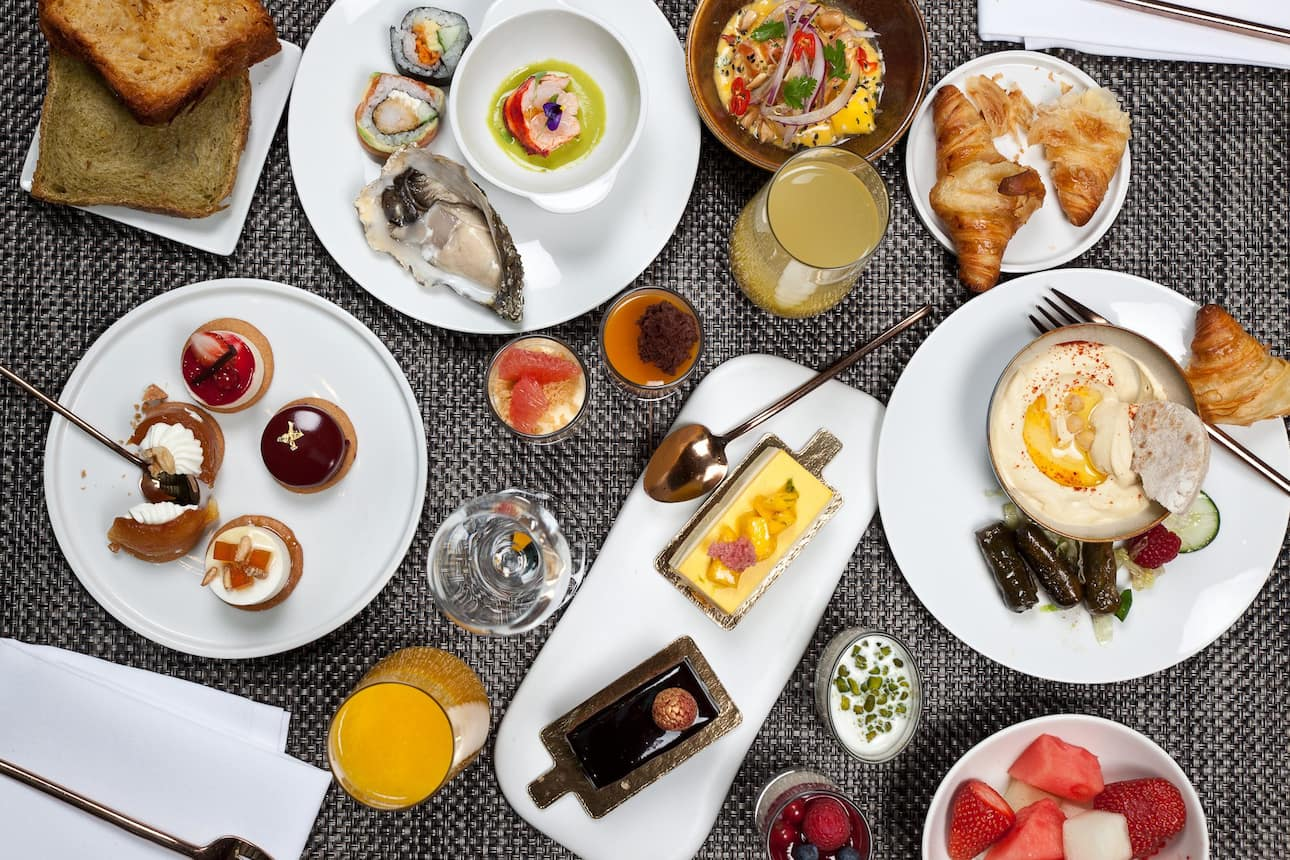 Breakfast at Blanc at Mandarin Oriental, Barcelona