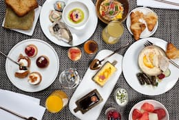 Breakfast at Blanc at Mandarin Oriental, Barcelona