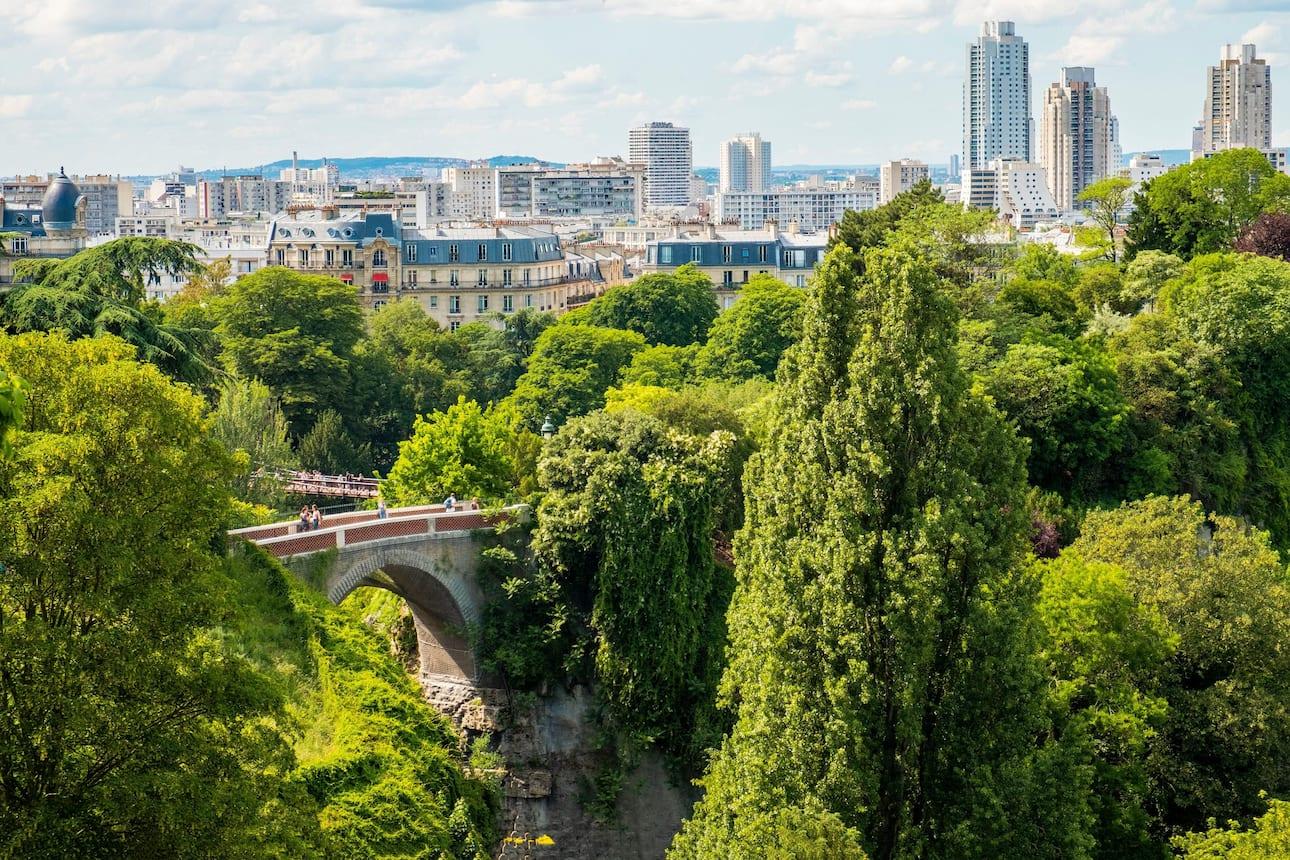 Parc des Buttes Chaumont, Paris