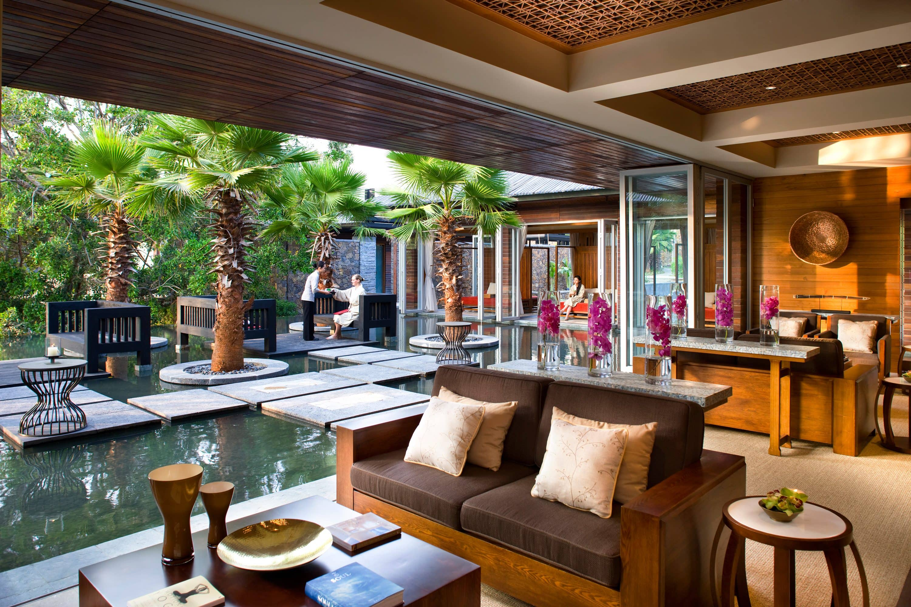 The spa at Mandarin Oriental, Sanya