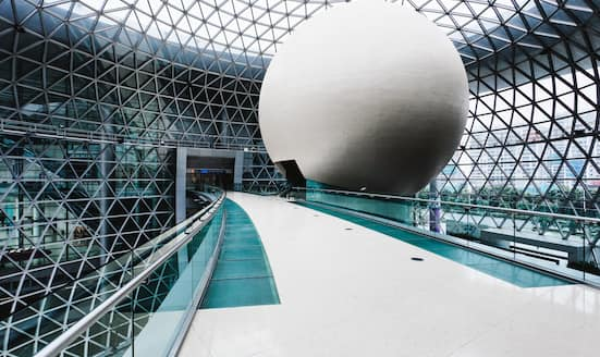 Interior of Shanghai Science and Technology Museum