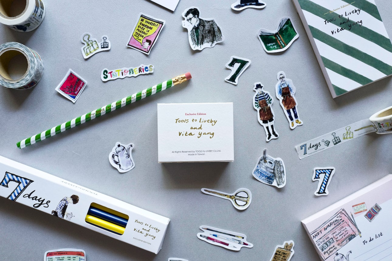 Stationery on a table