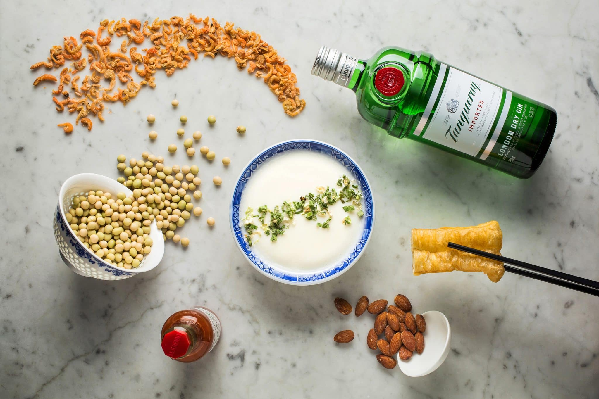 Ingredients as part of a mixology masterclass