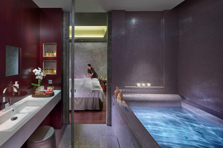 Spa suite at the spa at Mandarin Oriental, Paris
