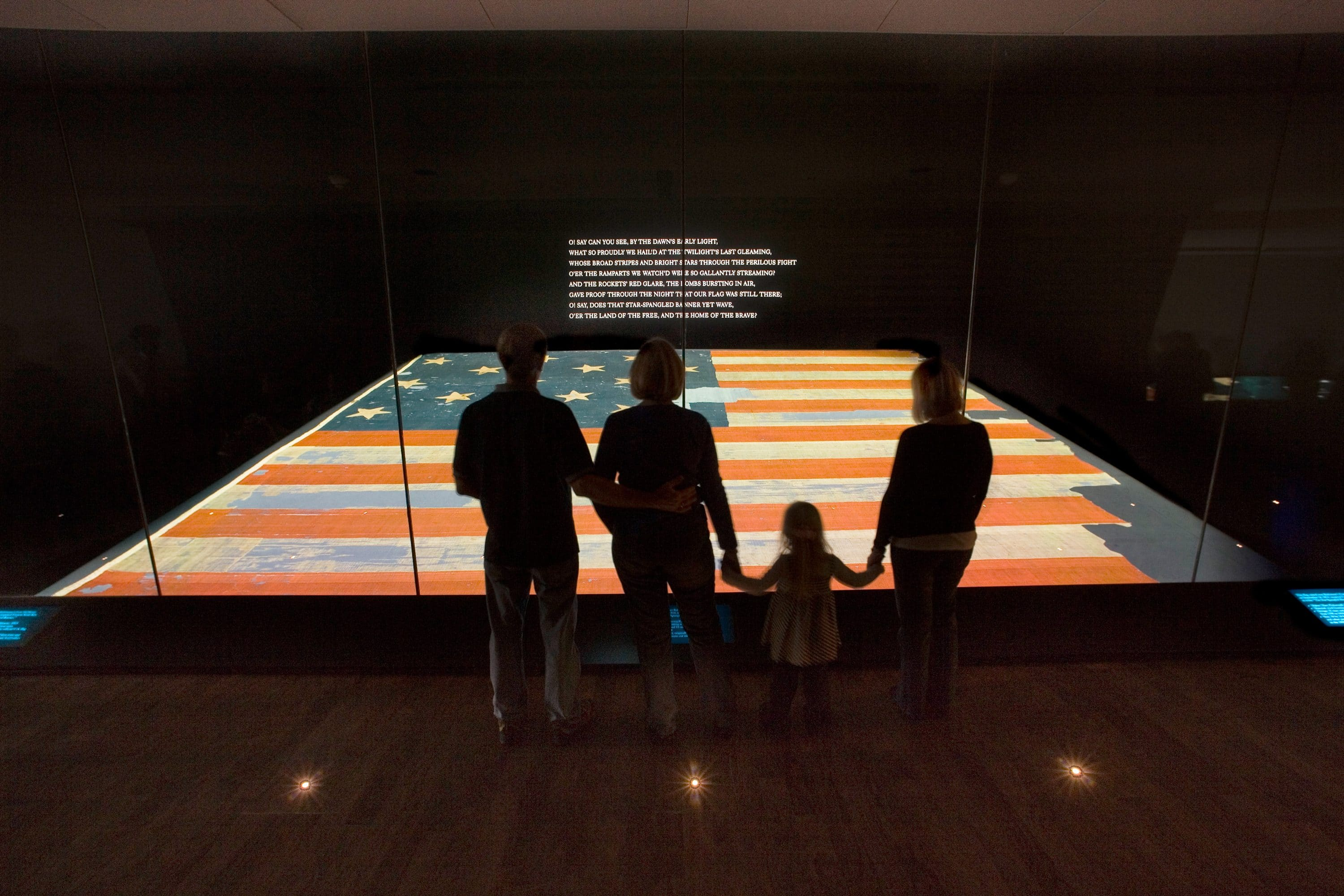 Star-Spangled Banner at National Museum of American History