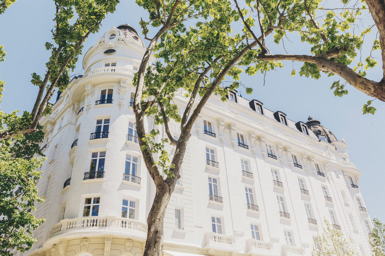 White facade of Mandarin Oriental Ritz, Madrid