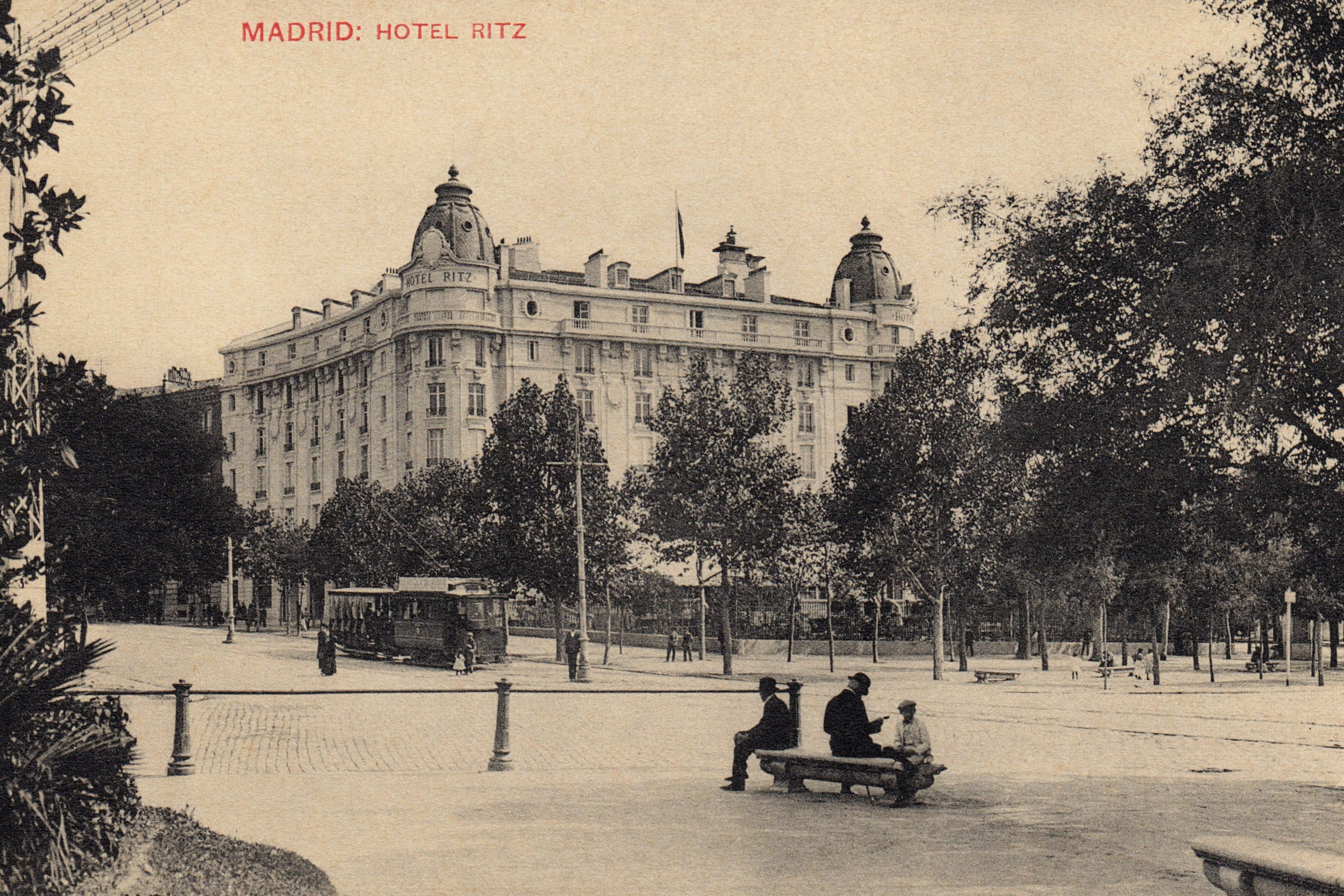 Historical photo of The Ritz hotel