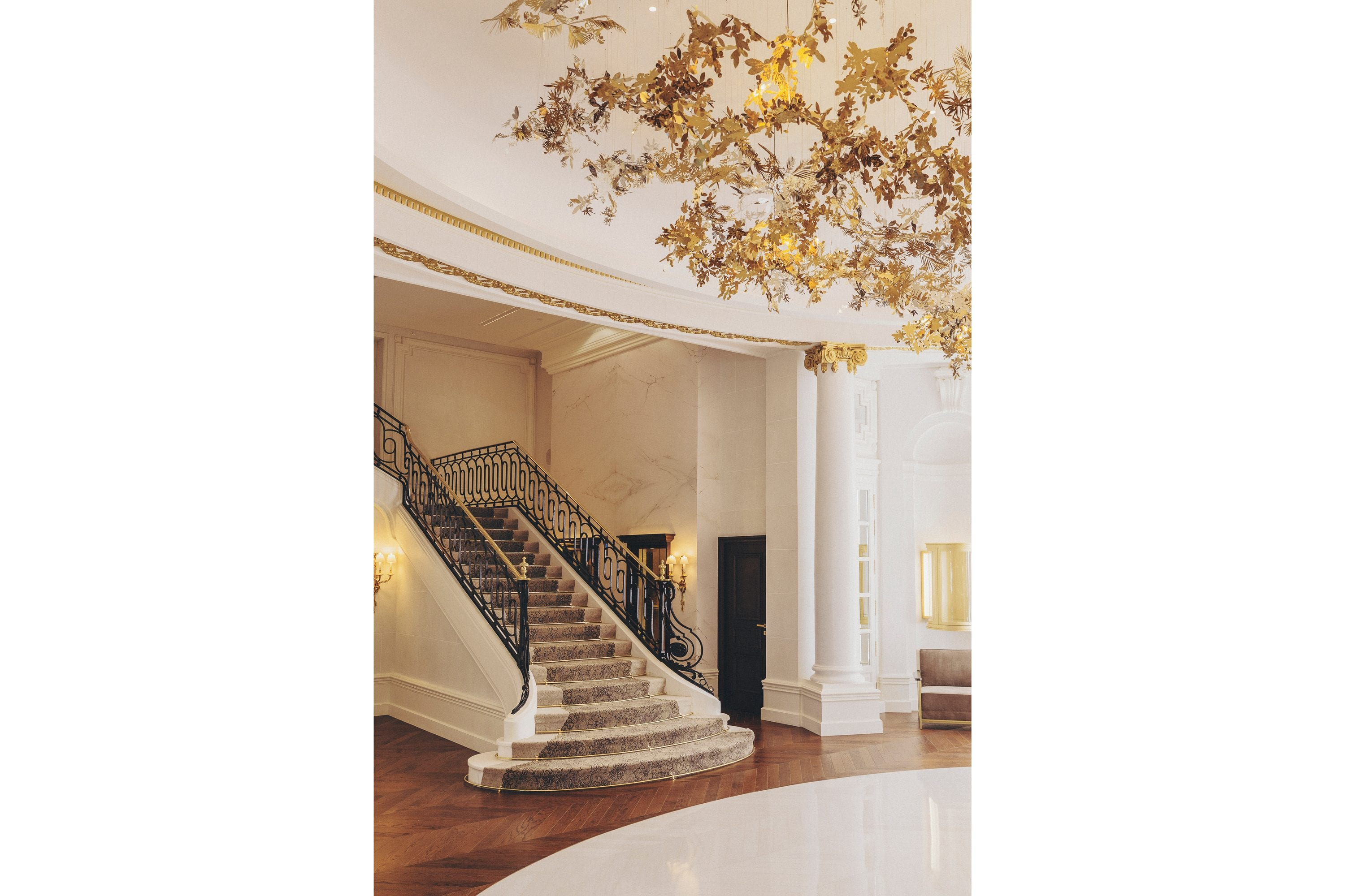 Staircase of French lobby