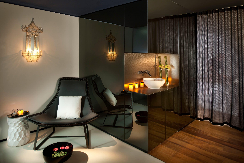 Treatment room at The Spa at Mandarin Oriental, Barcelona