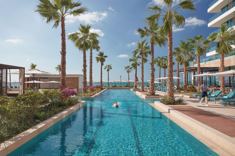 Pool at Mandarin Oriental Jumeira, Dubai