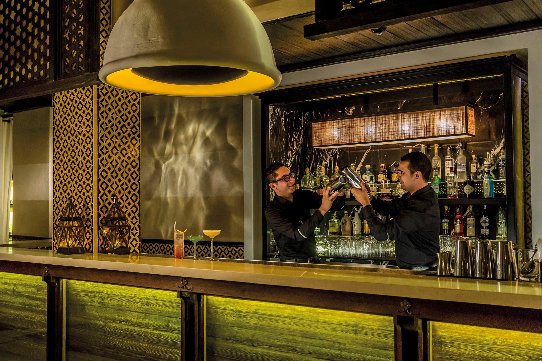 The bar at Ling Ling at Mandarin Oriental, Marrakech