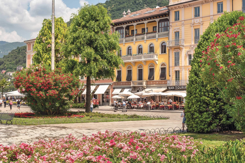 Pretty Italian piazza