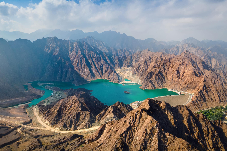 Mountains of the Hatta Trails, Dubai