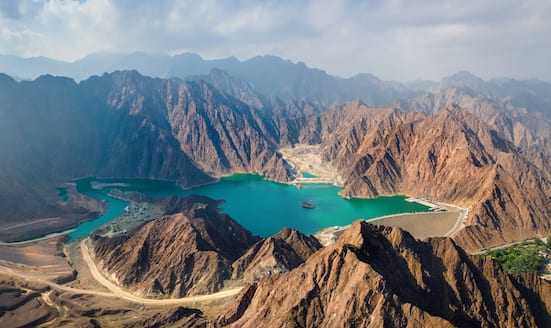 Mountains of the Hatta Trails