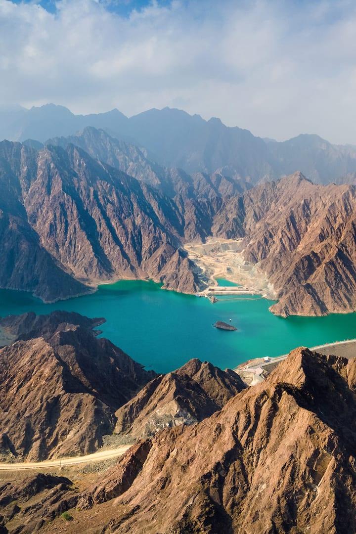 Mountains of Hatta Trails, Dubai